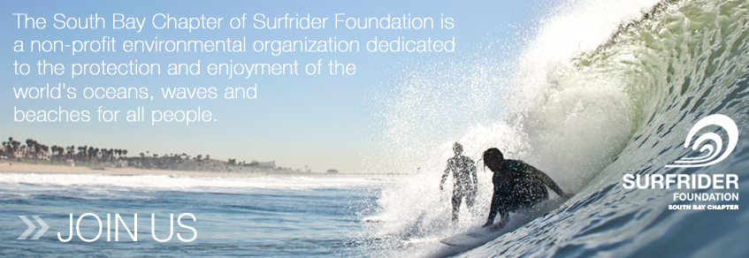Surfrider Foundation - South Bay Chapter Join Us Page